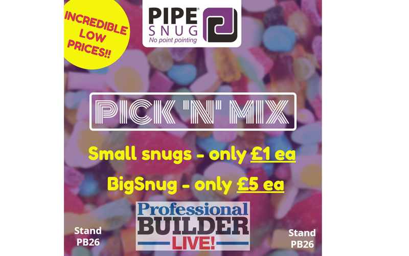 Exclusive! Pick 'n' Mix with PipeSnug